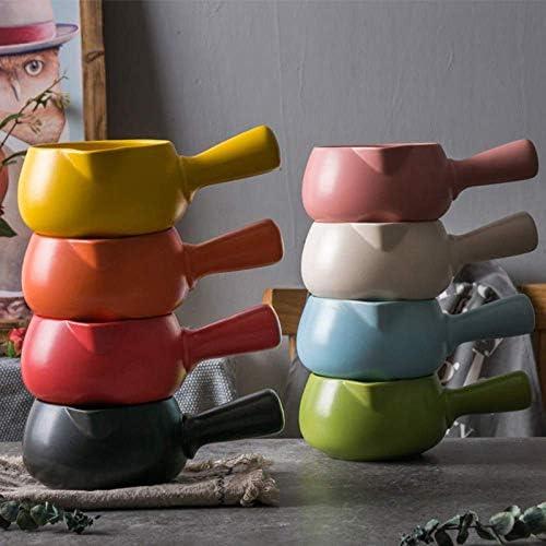 NfudishpuMokaコーヒーポットジャパニーズミルクジャグハンドルポーセレンマット艶出し表面ソースカップシャープイーグル口泡立てポットコーヒーコンテナー、1000ml