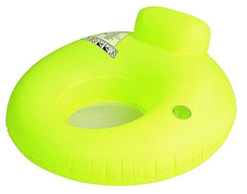 "48"" Neon Yellow Water Sofa Inflatable Swimming Pool Inner"
