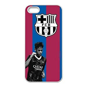 Barcelona Barcelona iPhone 5 5s Cell Phone Case White&Phone Accessory STC_018921