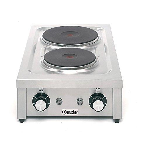 Bartscher Elektro-Tischkocher 2 Platten 105323