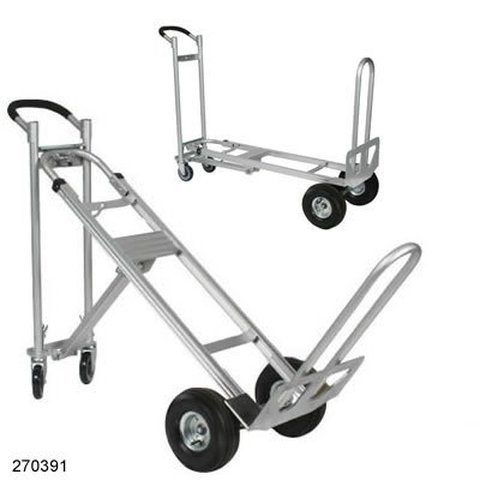 Position Truck - Wesco Spartan III TPA, Convertible, 3 Position, Hand Truck, 750# Capacity