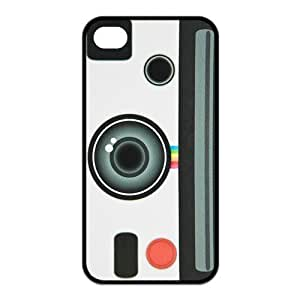 iPhone 4 4S Case,Vintage Camera Pattern High Definition Personalized Design Cover With Hign Quality Rubber Plastic Protection Case