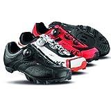 Lake MX175 Mountain Shoes - RED/BLACK, 44