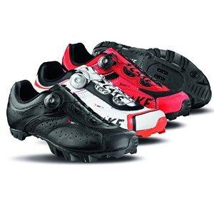 Lake MX175 Mountain Shoes - RED/BLACK, 44 by Lake Cycling