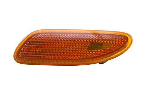 Hella Side Marker - HELLA H93244031 Mercedes-Benz C-Class W203 Driver Side Replacement Turn Signal Light Assembly