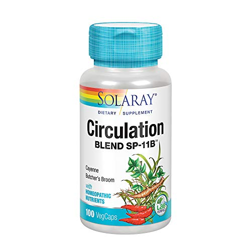 - Solaray SP 11B Circulation Blend Supplement, 100 Count