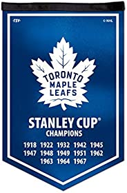 NHL Toronto Maple Leafs Victory Banner, 12 x 18-inches