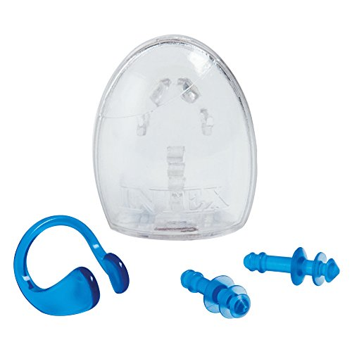 Intex Ear Plugs and Nose Clip Combo Set (Ear Clips Combo Pack)