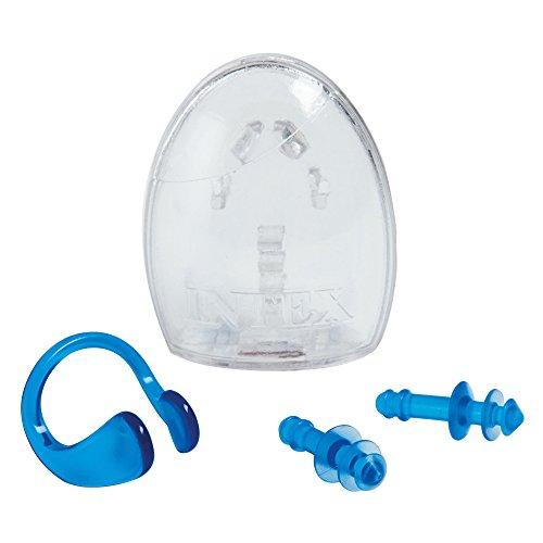 (Intex Ear Plugs and Nose Clip Combo Set)