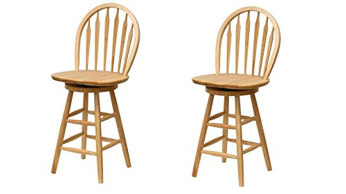 Chair Natural Wood Arrow (Winsome Wood Wagner 24