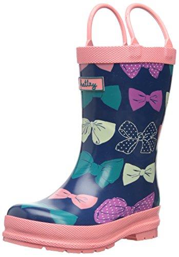 UPC 775165204814, Hatley Little Girls' Rainboots - Party Bows, Blue, 7
