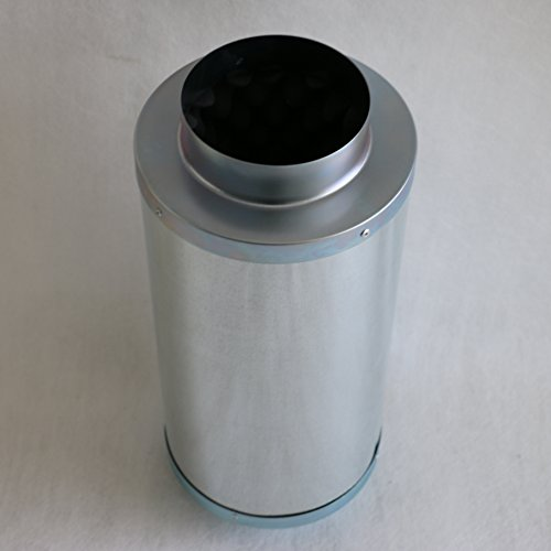 HFS (R) Noise Reducer Silencer for Inline Duct Fan (Dia 6
