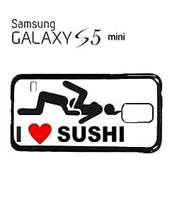 Lmf DIY phone caseI Love Sushi Joke Phone Case Samsung Galaxy S5 Mini WhiteLmf DIY phone case