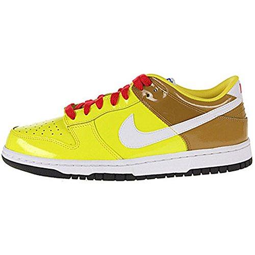 Nike Big Kids Dunk Low 6 Zest/White/Wheat/Atomic Red