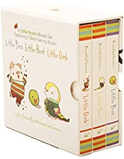 A Little Books Boxed Set Featuring Little Pea Little Hoot Little Oink: (Baby Board Books, Nursery Rhymes, Children's Book Sets, Nursery Books)
