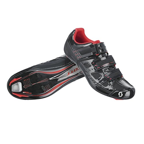 Scott Road Comp para bicicleta zapatos colour blanco/negro 2015 Negro - white/black gloss