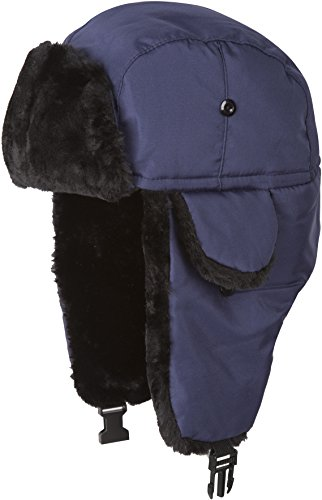 Quilted Trooper Fur Hat - 7