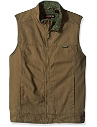 Wolverine Mens Big and Tall Porter Sherpa Lined Vest Outerwear