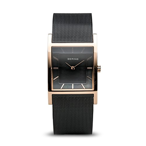 BERING Time 10426-166-S Women Classic Collection Watch with Stainless-Steel Strap and scratch resistent sapphire crystal. Designed in Denmark