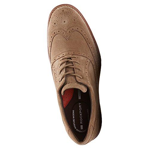 Shoe Rockport Mens Fusion Motion Wingtip Vicuna New Total Rockport Mens OOqwrR0f