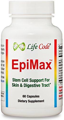 EpiMax: Epithelial Stem Cell Supplement Supports Skin, Joints, Digestive Tract, and Lungs