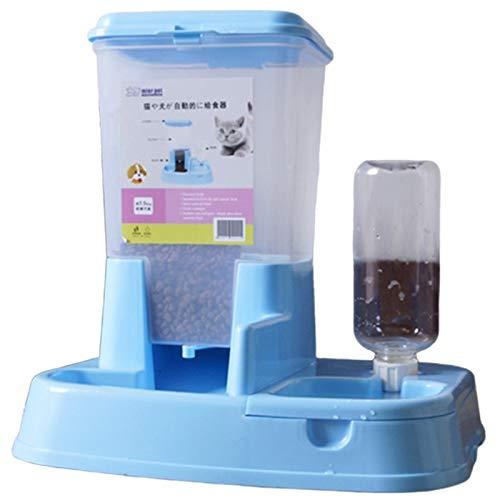 Basage 1 Satz Haustier Futterautomat Hund Katze Trinknapf Hundebedarf Gro?Raum Spender für Hunde Wasser Trin Kkatze…