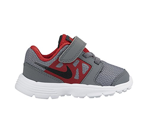 Nike Downshifter 6 (TD) - Zapatillas infantil, multicolor Gris (Cool Grey / Black-University Red-White)