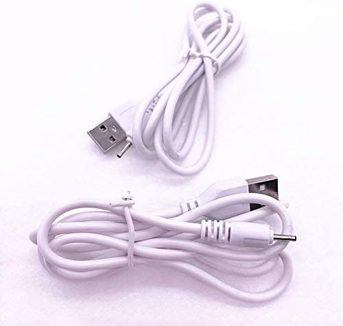 2pcs USB Charger Cable for Nokia N80 N96 N82 2730c 2760 2855 2865 5232 5235 5320 5330 5530 5611 5710 5730 5800 White