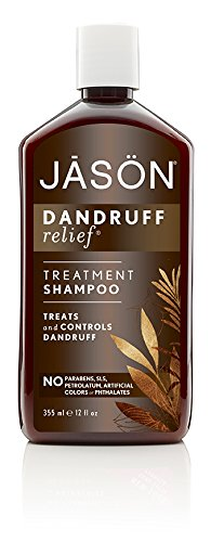 JASON Natural Cosmetics Dandruff Relief Shampoo Rosemary Olive and Jojoba 12 Ounces