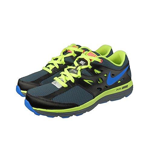Amarillo De Azul Lite Fusion Fille Chaussures Negro gs Gris Running Nike Dual 4Zvqgg