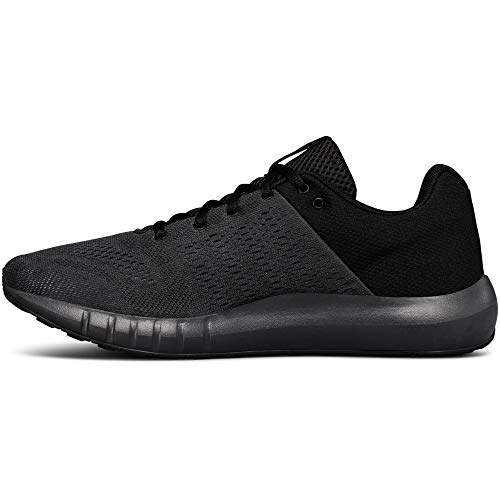 Under Armour mens Micro G Pursuit Running Shoe, Anthracite (104)/Black, 10 (10 Best Running Shoes)