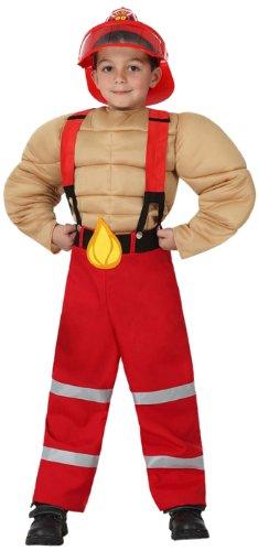 Atosa - Disfraz de bombero para niño, talla 7-9 años (16006 ...
