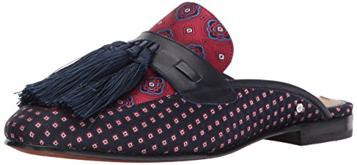 Multi Red Fabric Tie Mule Blue Edelman Sam Women's Parsimon Multi wqIUXcFTx