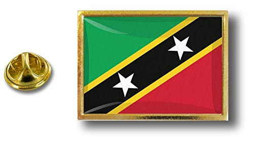 de con Saint bandera Badge Pins Nevis Clip Kitts Pin Akacha Pin mariposa metal nqpZfHIwx