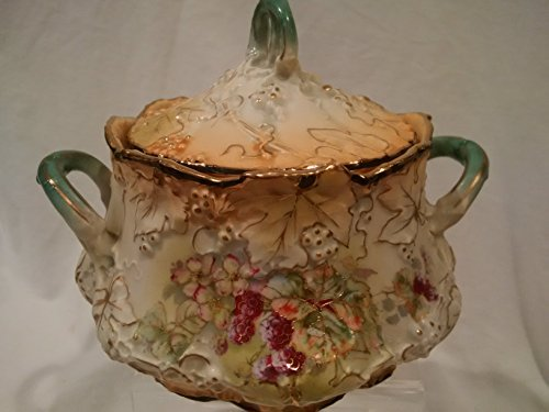 Vienna Biscuit Jar, Antique Cookie Jar,