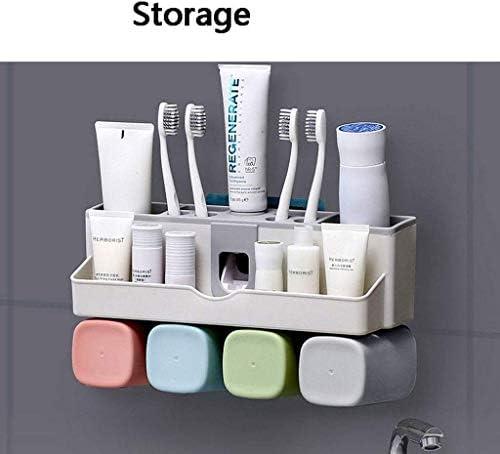 WY-WY 歯ブラシホルダーシンプルな歯ブラシホルダー浴室パンチフリーの歯ブラシホルダー多機能歯ブラシホルダー