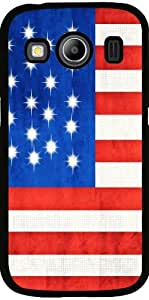Funda para Samsung Galaxy Ace 4 (SM-G357) - Bandera Estadounidense by Blooming Vine Design