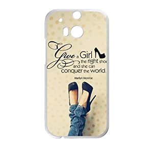 Warm-Dog High-heeled ShoesCell Phone Case for HTC One M8