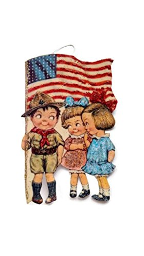 Fourth of July Ornament Decoration Patriotic Military Kids Independence Day Holiday Handmade Gift