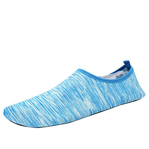 (Womens and Mens Kids Water Shoes Barefoot Quick-Dry Aqua Socks for Beach Swim Surf Yoga Exercise)