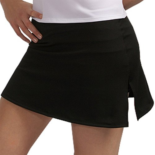 A Line Tennis Skirt with Shorts and Slits