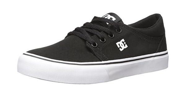 dbcee04379d7 Amazon.com  DC Shoes Men s Trase TX Shoes Black   White 11  Clothing