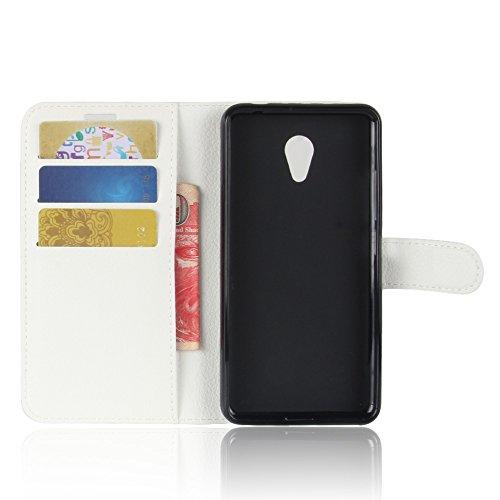 Funda MEIZU M5C,Manyip Caja del teléfono del cuero,Protector de Pantalla de Slim Case Estilo Billetera con Ranuras para Tarjetas, Soporte Plegable, Cierre Magnético A