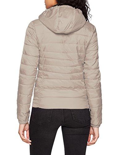 Noos OTW Onltahoe Blouson Gris NOS Hood ONLY Femme Jacket Silver ZqRnSX4w