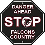 "NFL Atlanta Falcons Stop Sign, 12"" x 12"""