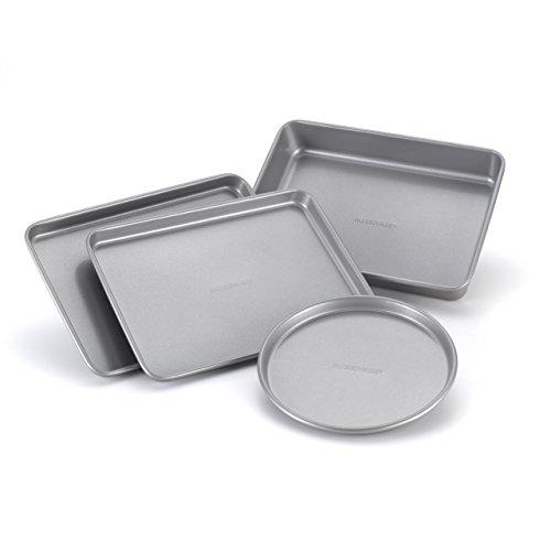 Premium Pack Nonstick Bakeware 4-Piece Toaster Oven Set