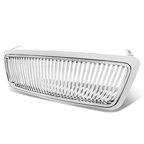 Ford F150 11th Gen ABS Plastic Vertical Style Front Upper Grille (Chrome)