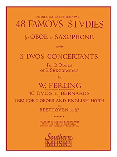 48 Famous Studies (2nd and 3rd Part): Oboe