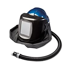 Allegro Industries 9904-CWB Deluxe SAR Shield and Welding Helmet with High Pressure Personal Cooler (Hansen Fitting), #10 Lens, Standard