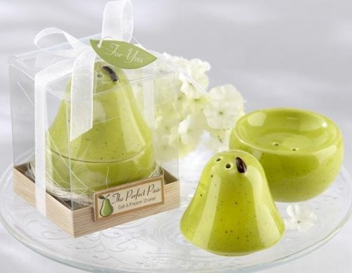 The Perfect Pair Ceramic Salt & Pepper Shaker -96 count